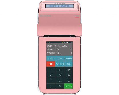 Kasa-Fiskalna-Elzab-K10-Online-BT-GPRS-Różowy-Biały